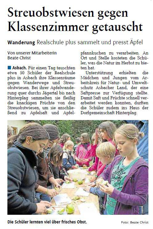 Rhein-Zeitung 2.10.2012