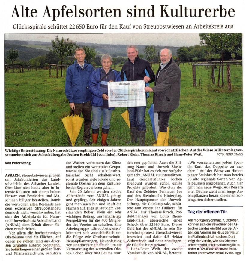 General-Anzeiger 6.10.2012