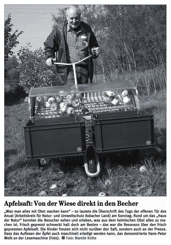 Rhein-Zeitung 16.10.2006