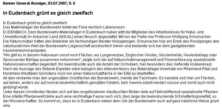 General-Anzeiger 3.7.2007