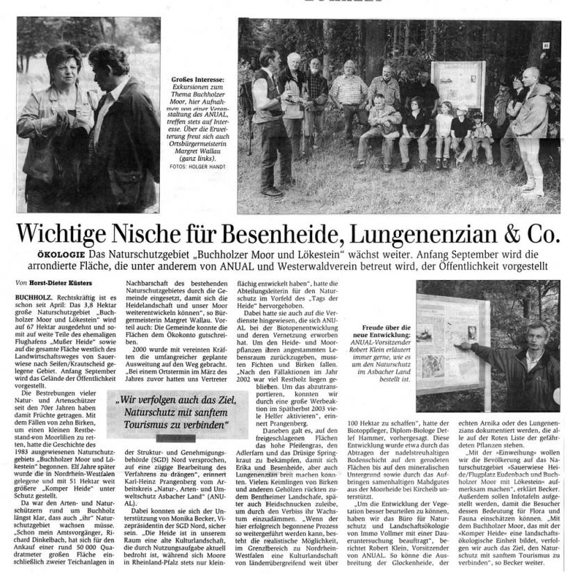 General-Anzeiger 23.8.2007