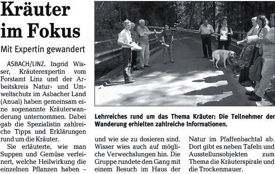 Rhein-Zeitung 16.5.2008