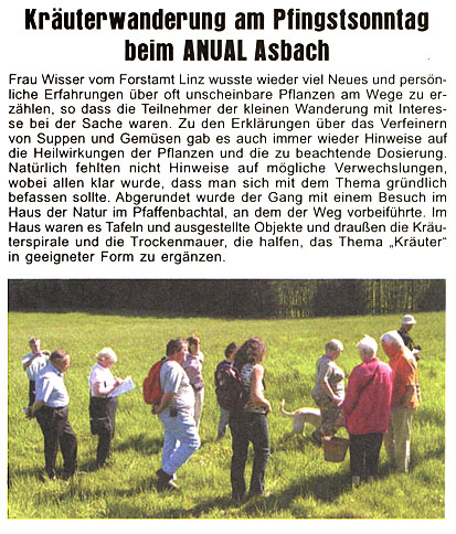 Journal am Sonntag 25.5.2008