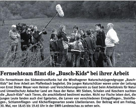 Rhein-Zeitung 29.5.2008