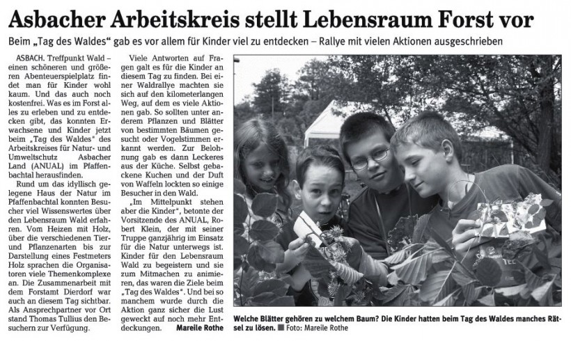 Rhein-Zeitung 18.6.2008