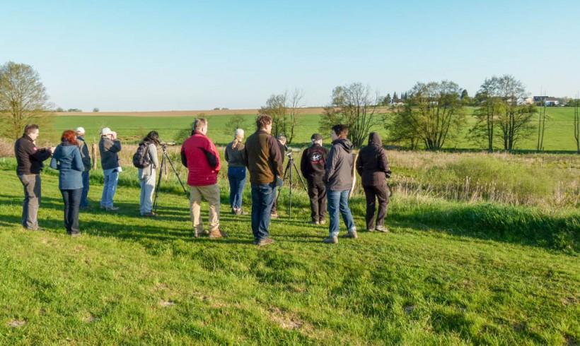 Erfolgreiche Vogelexkursion des ANUAL – der Nachbericht