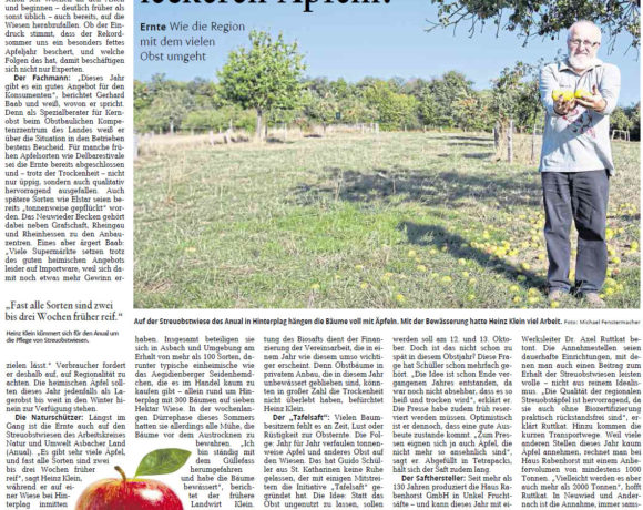 Rhein-Zeitung vom 17.09.2018