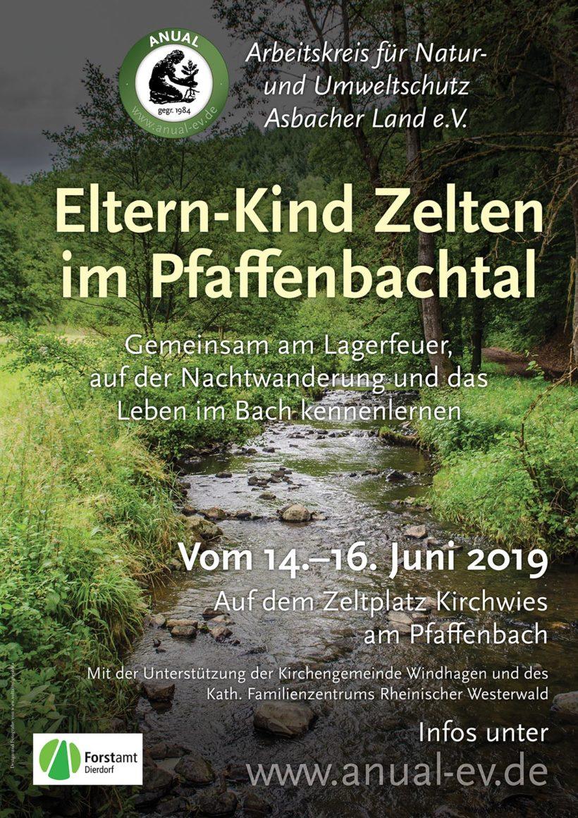 Zelten im Pfaffenbachtal 2019