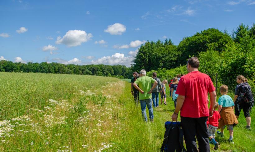 Bilder vom Familienzelten im Pfaffenbachtal 2019