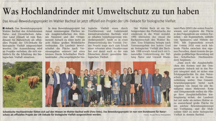 Rhein-Zeitung  10.03.2020