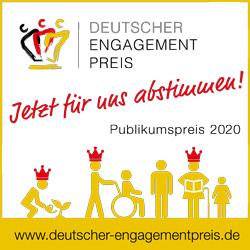 Deutscher Engagement Preis –Jetzt für uns abstimmen!